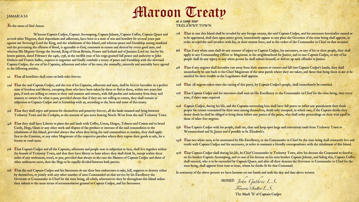 Akwantu - Maroon Treaty